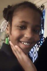 Terrisha Bennett, 9, of South Bend