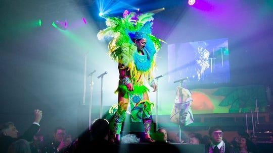 The Krewe of Rio held its fifteenth annual Mardi Gras ball Saturday, Jan. 11, 2020.