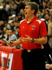 Fairfield Union's Alex Eversole recorded his 100th career coaching win last Saturday in the Falcons' 40-38 victory over Bloom-Carroll.