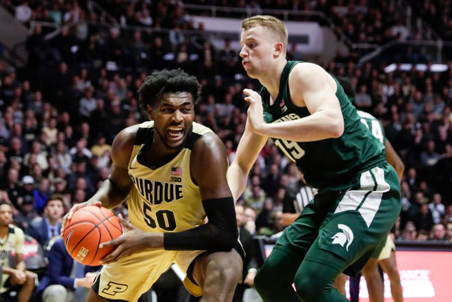 Trevion Williams will be a load again for MSU's big men.