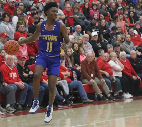Ontario's Shaquan Coburn has the Warriors at No. 5 in this week's Richland County Boys Basketball Power Poll.
