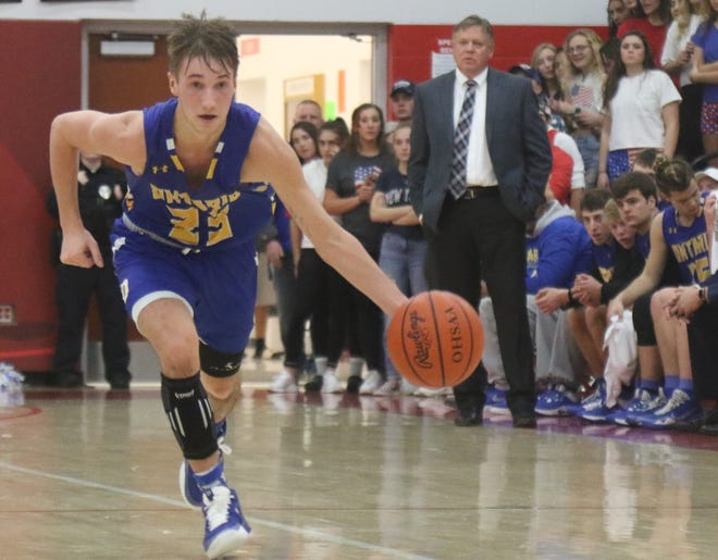 Ontario's Griffin Shaver scored 14 points in a 62-42 win over Highland and 18 in a 70-51 win over Bellevue last week.