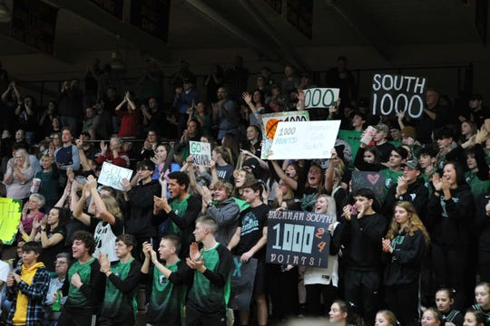 Clear Fork's Brennan South became the sixth Colt in Clear Fork High School history to reach 1,000-career points.
