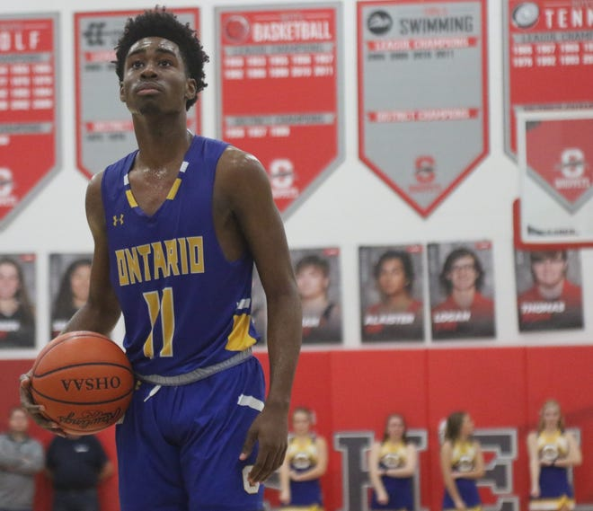 Ontario's Shaquan Coburn leads the Warriors into a tough couple of games this weekend.