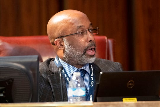 Memphis City Council member Martavius Jones — shown here during a Jan. 7, 2020, council meeting — says it's time to consider a property tax increase.