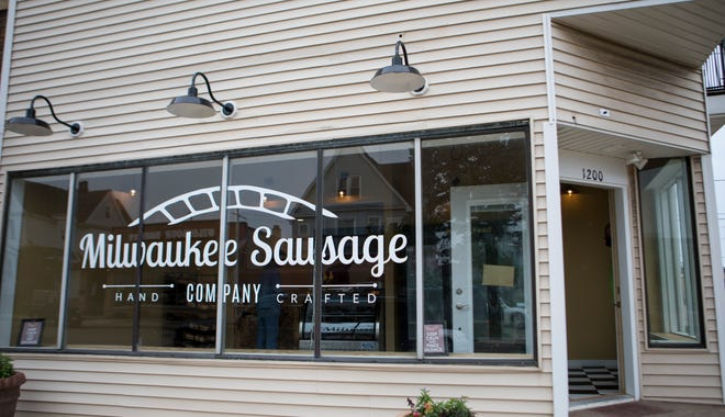 Milwaukee Sausage Co. opened in June 2018 at 1200 Milwaukee Ave. in South Milwaukee.