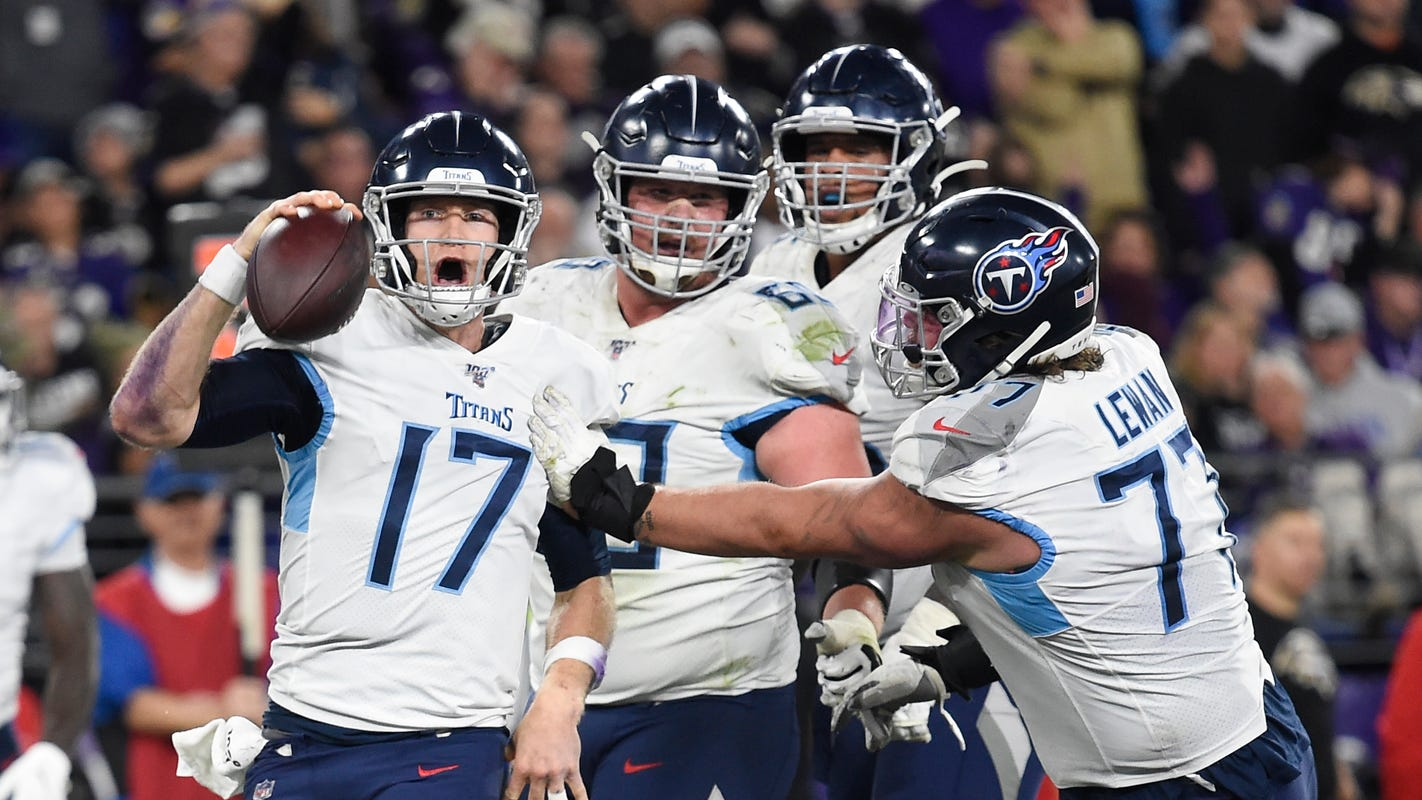 Opinion: If the Titans can do this to the Ravens, they can do it to anybody left in NFL