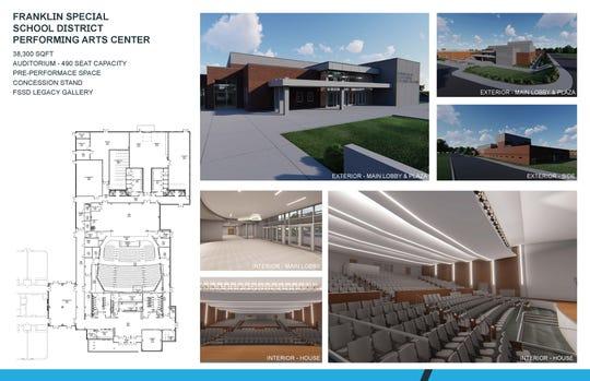 Franklin Special School District renderings