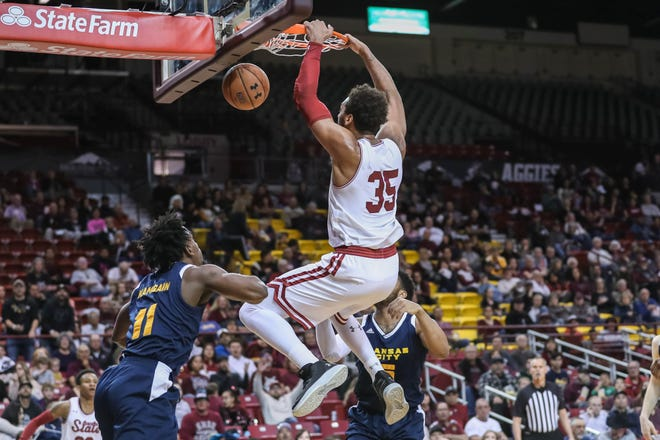 New Mexico State is on the road Thursday at 7 p.m. for a showdown against Utah Valley.