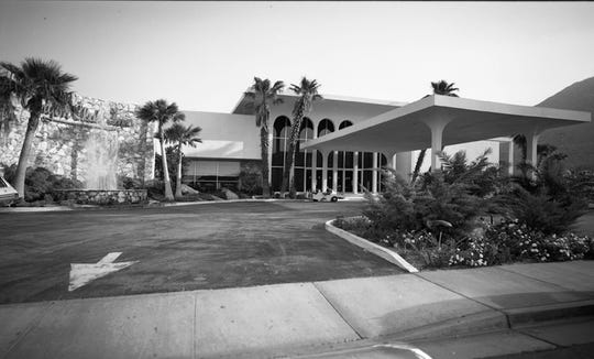 "Canyon Club Inn's ""Mediterranean Modern"" architecture. Photographed by William Plachta."