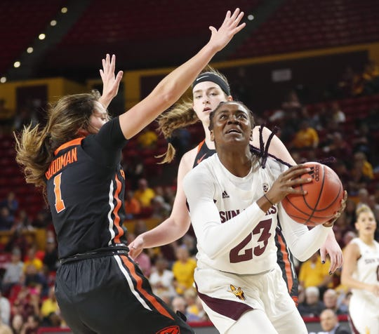 Arizona State women's basketball makes history with consecutive upsets of top-5 teams
