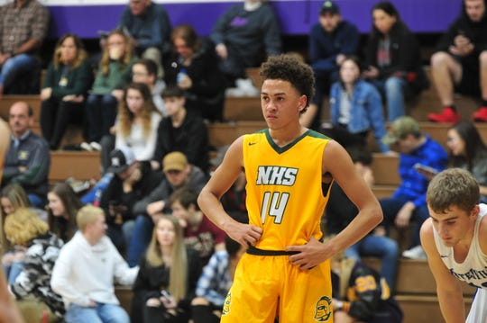 Northeastern junior Kolden Vanlandingham is averaging 20.9 points per game this season, good for second in the Tri-Eastern Conference.