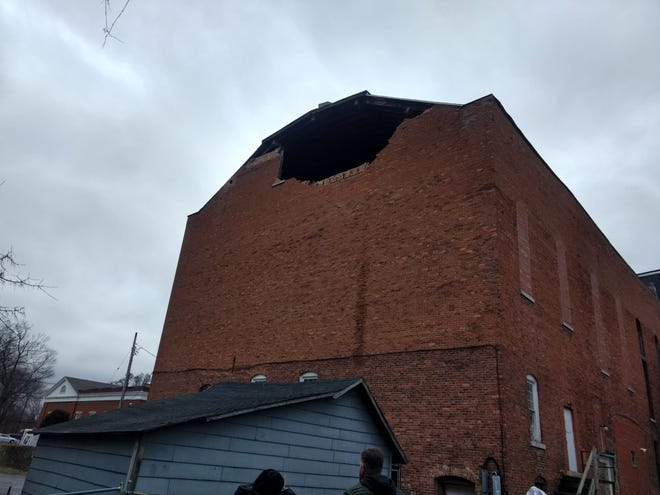 The Williams Opera House suffered a partial building collapse on Jan. 12, 2019.
