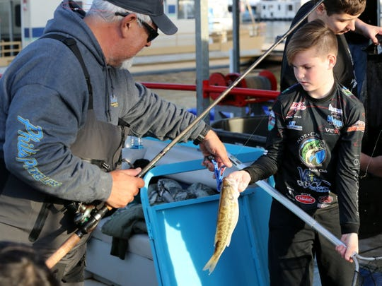 Some 219 two-person teams competed Saturday, Jan. 11, 2020, in the Wild West Bass Trail tournament at Lake Shasta and the Bridge Bay Marina. California regulators on Wednesday voted to allow temporary limits on freshwater fishing in some rural communities where local officials are concerned out-of-towners could spread the coronavirus to residents.