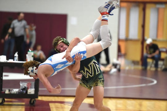 Wilson Memorial threw the competition around Saturday, winning the 31st News Leader wrestling tournament at Stuarts Draft High School.