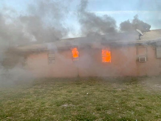 A fire to an Avenue I home in Fort Pierce displaced three adults and one teenager, Saturday evening. St. Lucie County Fire District responded to the fire that was determined to be accidental.