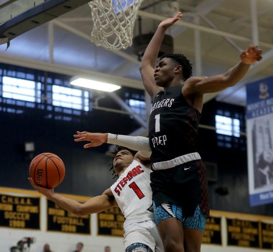 With his 32 points against Rutgers Academy at St. Michael's Academy in the Bronx Jan. 12, 2020, R.J. Davis of Stepinac became Westchester County's all-team leading boys basketball scorer. His 2121 points surpasses Danya Abrams previous record of 2019 points. Abrams, who played for both Woodlands High School and the Hackley School, set his record in 1993.