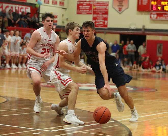 """Tappan Zee defeats Byram Hills 67-48 in the fourth annual """"Two Counties, One CauseÓ basketball tournament at Tappan Zee High School in Orangeburg on Saturday, January 11, 2020."""