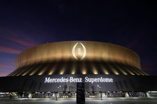 LSU and Clemson will battle Monday night in the Mercedes-Benz Superdome for college football's national title.
