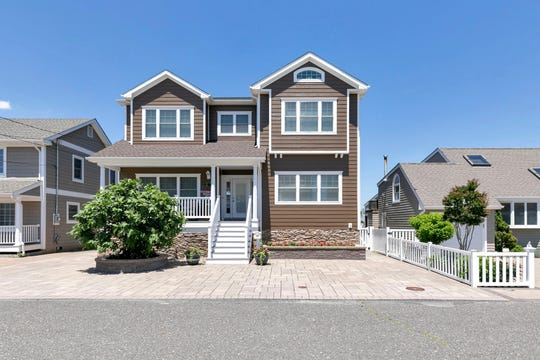 The waterfront home at 207 Haddonfield Avenue in Lavallette is exceptional