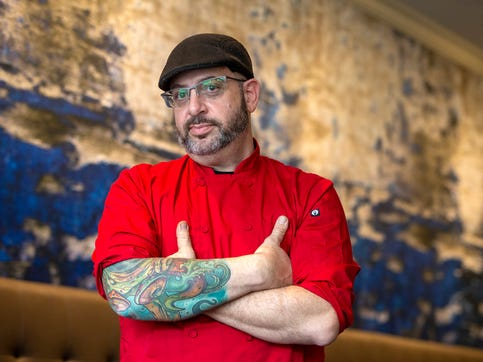 "Lou Smith, owner of Blend on Main, who was visited by Gordon Ramsay in the fall for his Fox show ""24 Hours to Hell and Back,"" talks about the experience at Blend on Main in Manasquan, NJ Monday, January 13, 2020."