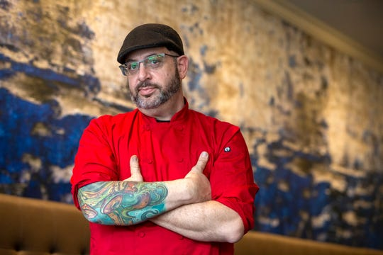 Lou Smith, chef and owner of Blend on Main in Manasquan.