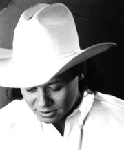 Neal McCoy publicity photo from the 1990s, when he played a Taylor County Coliseum show with Bryan White and David Kersh.