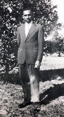 Harry T. Moore in Mims in the 1940s.