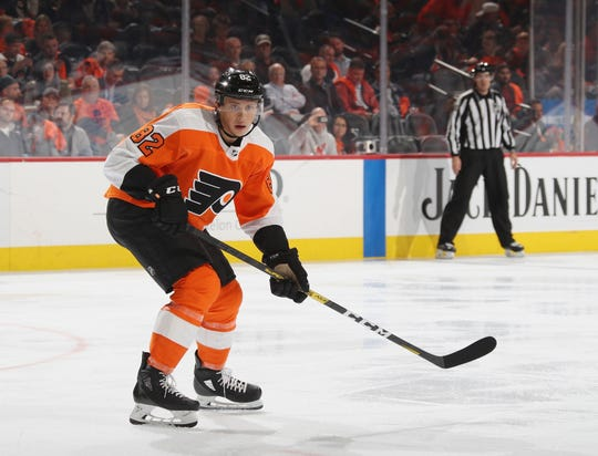 Connor Bunnaman made the NHL team out of training camp and was sent down after four games. This is his second audition of the season.