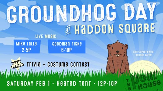The Groundhog Day event will help extend the season at the Haddon Square pop-up space.