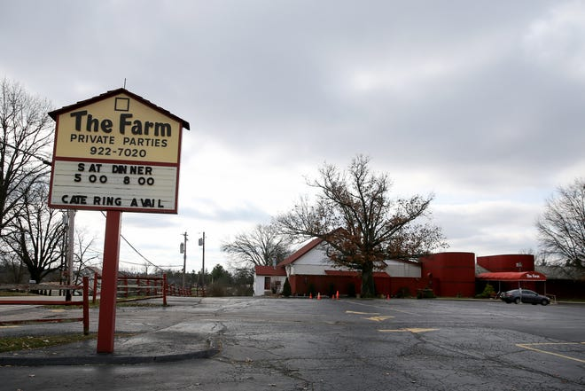 The Farm, a banquet-and-party hall and institution on Cincinnati's West Side, pictured, Monday, Jan. 13, 2020, in Delhi Township, has been seized by the Internal Revenue Service and will be put up for auction next week.