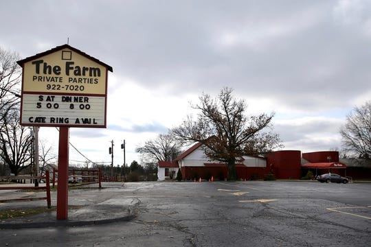 The Farm banquet hall, a long-time West Side icon in Delhi Township, has been seized by the IRS and will be auctioned.