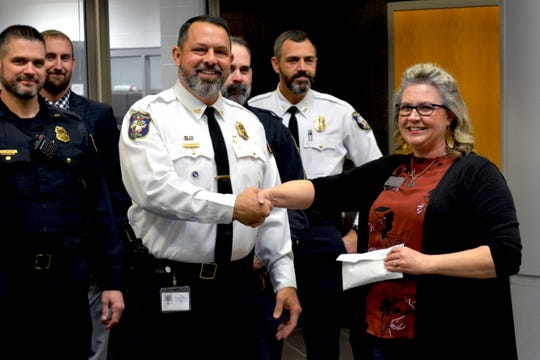 To date, the West Chester Police Department has raised about $13,000 for three local charities over the last three No-Shave November seasons.