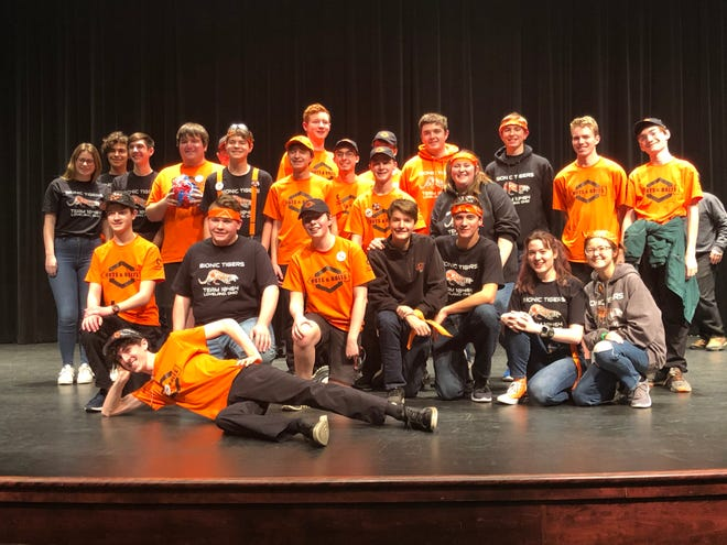 Loveland High School's FIRST Tech Challenge Teams 5040 (Nuts & Bolts) and 10464 (The Bionic Tigers) competed at the Ohio State Newark-COTC Qualifier, bringing home multiple awards from the competition.