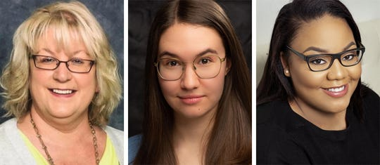 Melissa Schaffner, Annabelle Szepietowski and Alexandra West star in Eve Ensler's THE VAGINA MONOLOGUES in the Roxy Regional Theatre's theotherspace, Jan. 17 - Feb. 1.
