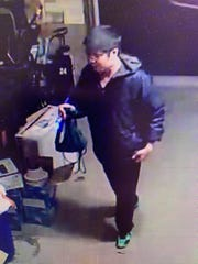 South Brunswick police believe this man was involved in the burglary of a garage of a home in the Kendall Park section early Sunday.