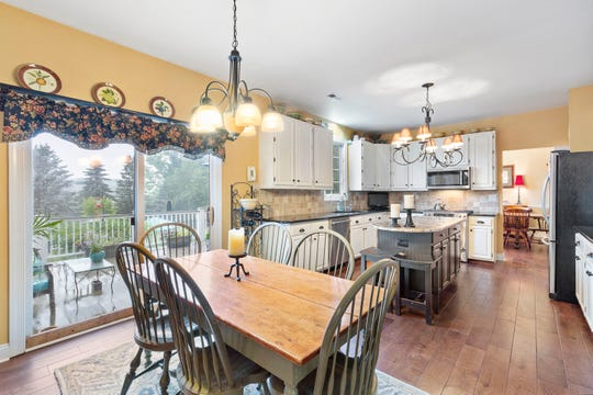 An upgradedColonial located on a cul de sac in Glen Gardner is for sale for $549,900.
