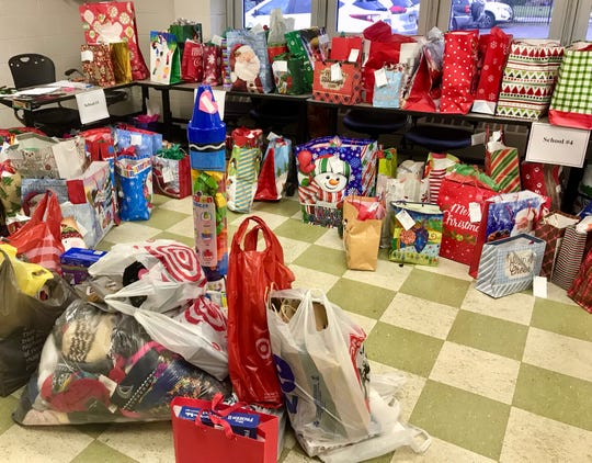 The Linden Public Schools gift drive distributed over 1,000 gifts to families in need around the community.