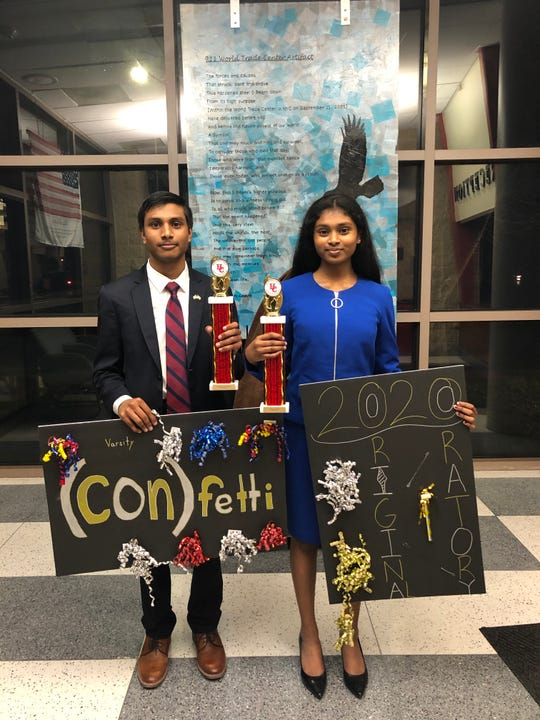 Thomas Edison EnergySmart  Charter School students Moiez and Akshat advanced to the Congress finals and were placed 12 and One, respectively.
