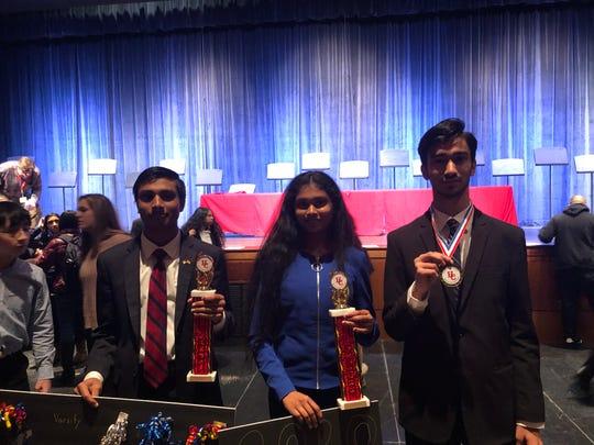 Thomas Edison EnergySmart Charter School students  are the Congressional debate tournament champions.