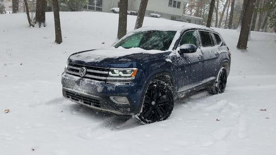 With all-wheel-drive, good safety systems and loads of cargo space, the 2019 VW Atlas is an excellent family travel companion in all weather conditions.