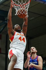Michigan State product Nick Ward is averaging 12.2 points and 6.1 rebounds for the College Park Skyhawks of the NBA G League.