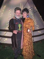 Ethan and Gretchen Davidson host Bizarre Bazaar.