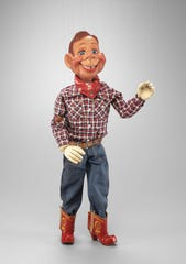 The original Howdy Doody puppet from the TV show that debuted in 1947 will be on view at the DIA Friday-March.