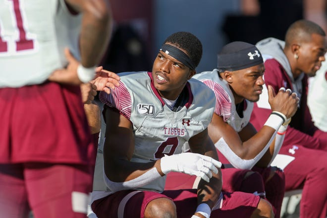 """""""The stands, we don't usually have a lot of people,"""" Donnie Corley says of games at Texas Southern."""