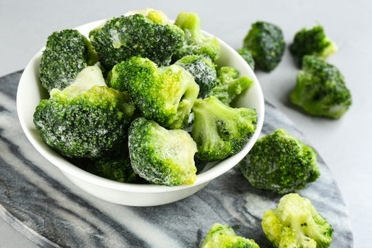 Get over the stigma of frozen vegetables, says Ben Mims.