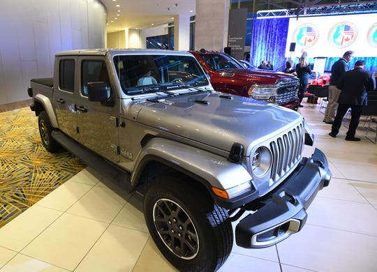 The 2020 North American Truck of the Year, the Jeep Gladiator.