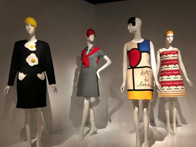 """""""In Pursuit of Fashion,"""" is a groundbreaking exhibition currently on view at the Metropolitan Museum of Art by local collector Sandy Schreier ."""