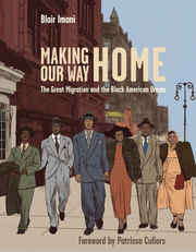 """Making Our Way Home,"" released Tuesday, features illustrations from Detroit artist Rachelle Baker."