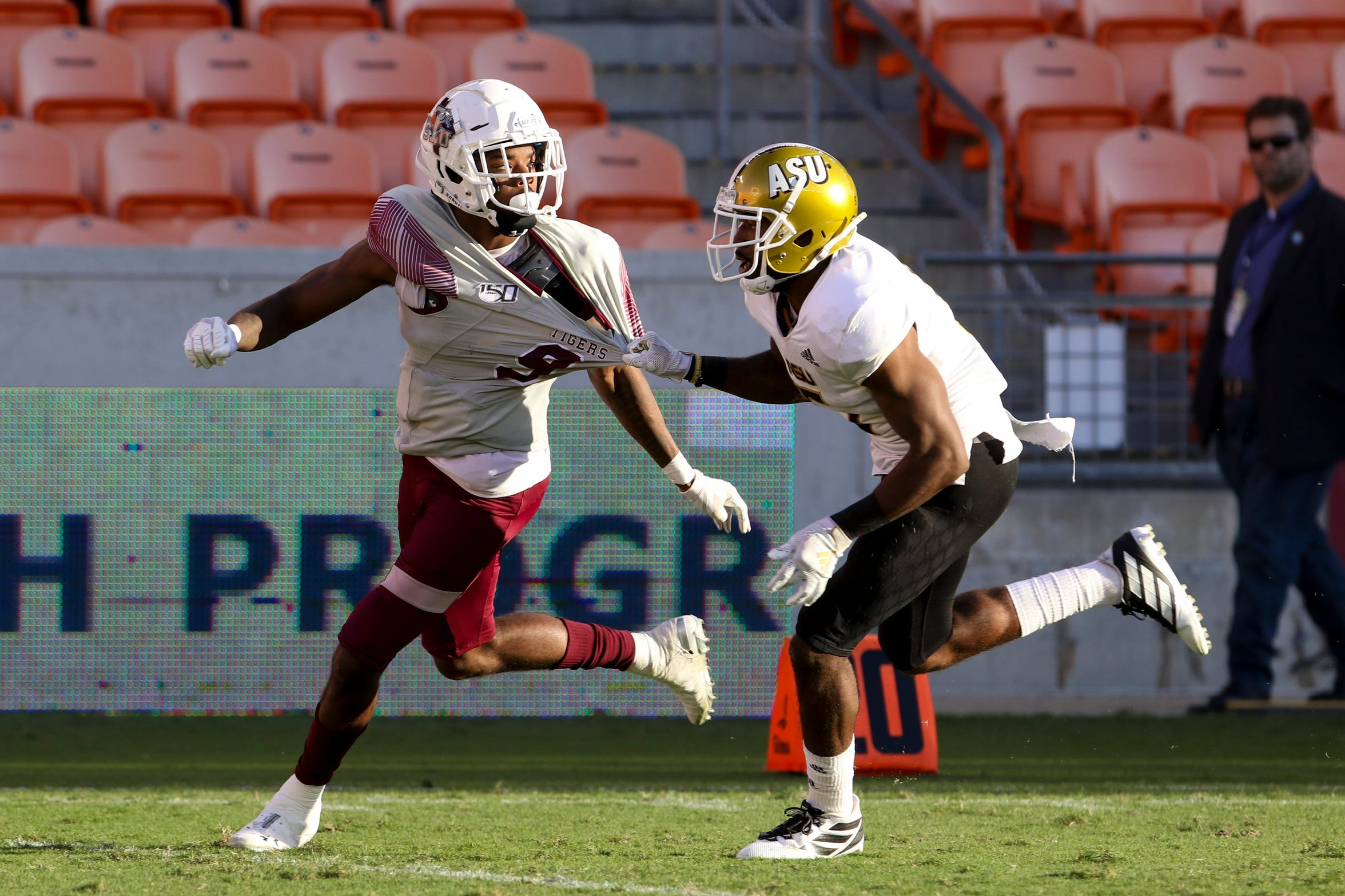 Donnie Corley had 1,039 receiving yards and three touchdowns this season for Texas Southern. He has one year of eligibility remaining.